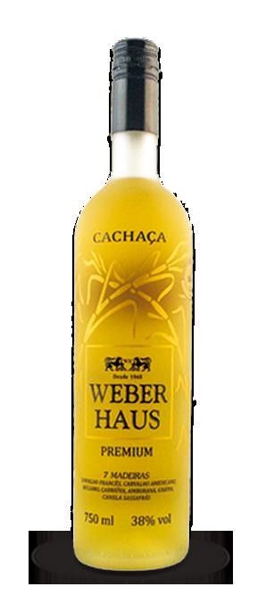 Cachaça Weber Haus 7 Madeiras Premium