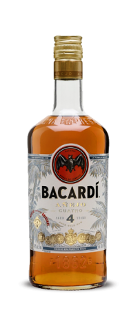 Rum Bacardi Añejo 4 Anos