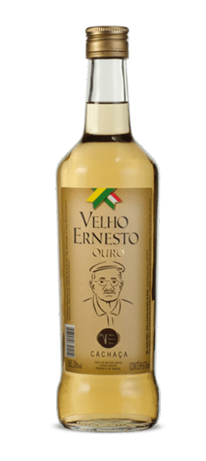 Cachaça Velho Ernesto Ouro