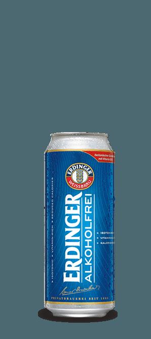 Cerveja Erdinger Alkoholfrei Lata Sem Álcool