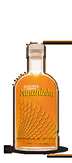 D'gusta Bananinha 750ml