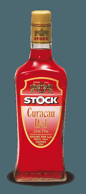 Licor Stock Curaçau Red