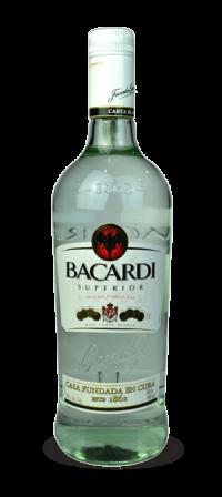 Rum Bacardi Prata Superior