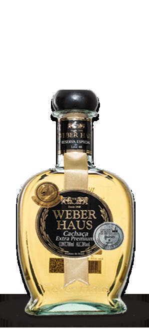 Cachaça Weber Haus Extra Premium