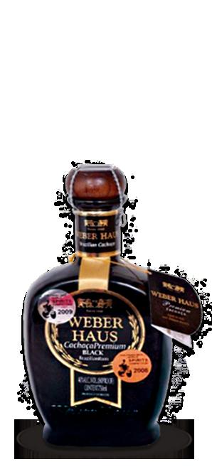 Cachaça Weber Haus Premium Black