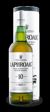 Whisky Laphroaig Single Malte 10 anos